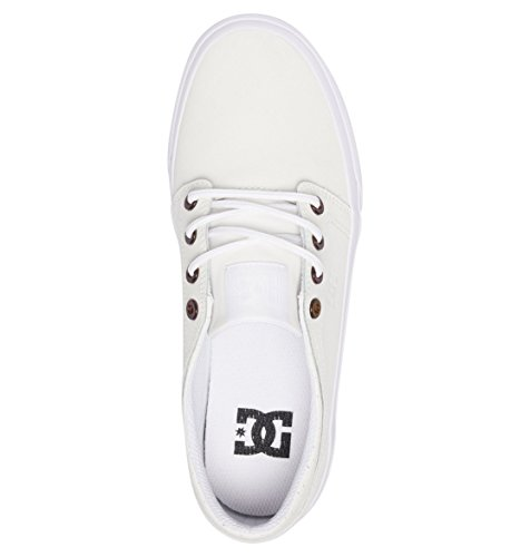 Se Dc White Femme Shoes Sneakers Basses Blanc Trase qUUHP6E