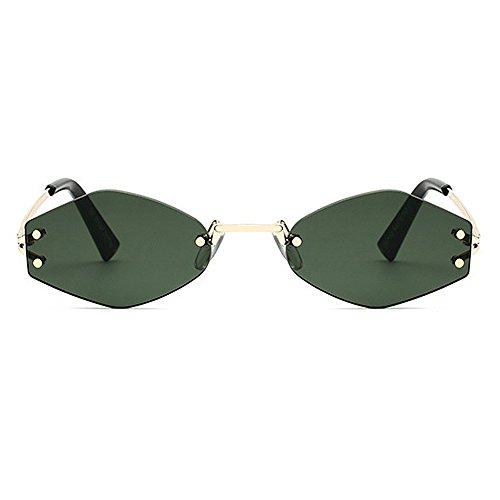 Yxsd Protección Marco de Color Metal Green de Aviador Brown Hombre Gafas de SunglassesMAN de Sol con para UV400 4OwUxAOq