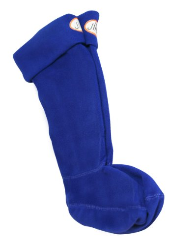 (Jileon Rain Boot Liners for Boys and Girls - Blue Size: Medium (10-12))