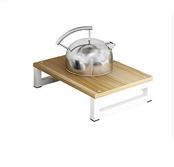 Soporte de Cocina de inducción/Estufa de Gas Natural/Estante de Cocina/Cubierta de la Estufa de Gas, Color: B: Amazon.es: Hogar