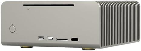 Streacom FC8 HTPC Plata - Caja de Ordenador (HTPC, PC, Aluminio, Mini-ITX, Plata, 240 mm): Amazon.es: Informática