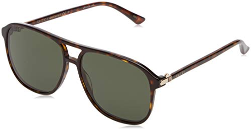 Gucci GG0016S 007 Havana 0016S Round Sunglasses Polarised Lens Category 3 Size