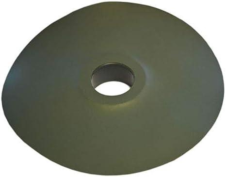 NORDFOL einseitige Foliendurchf/ührung Durchf/ührung Teich Gartenteich Schwimmteich 50mm, schwarz