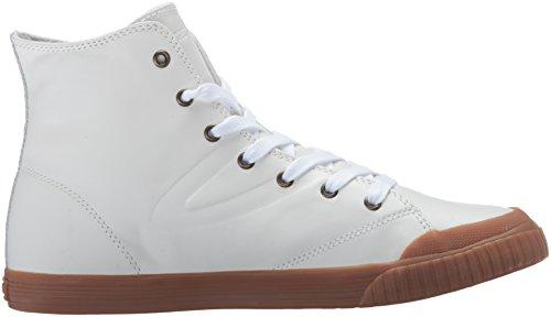 Tretorn Kvinners Marleyhi2 Mote Sneaker Hvit / Honning