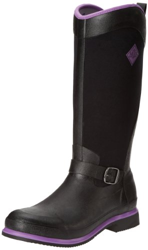 Muck Boot Reign Tall - Escarpines Mujer Black (Black/Purple)