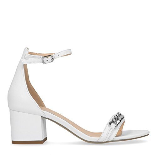 Sacha Damen Sandaletten Weiß