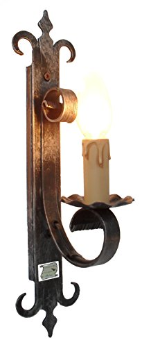 Cruccolini snc Handmade 1 Light Wall Lamp Castle (Appliques Wall Sconce)