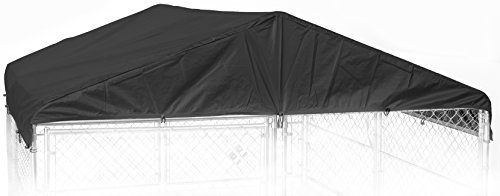 Weatherguard CL 00303 Kennel Frame & Cover Set, 10 x 10', Black by Weatherguard (Jewett Cameron Weatherguard Kennel Cover)