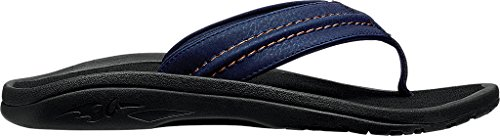 Thong Sandal Trench Hokua Men's Blue OluKai Black Ea0Uqwxt