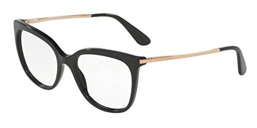Dolce&Gabbana DG3259 Eyeglass Frames 501-53 - Black DG3259-501-53