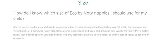 Large Product Image of Naty Diapers - Size 1 - 26 ct