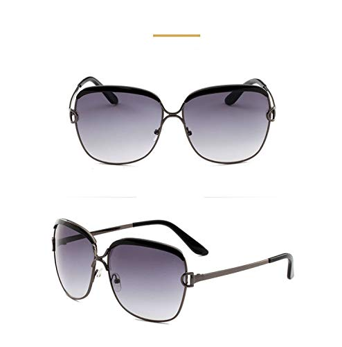 Sunglasses Women Luxury Oversized Sunglasses White Lunette Sunglasses Shades For Womens,Gray]()