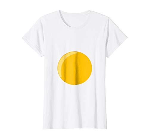 Womens Deviled Egg Fried Egg Funny Halloween Costume T-shirt Medium -