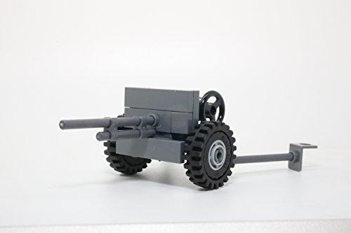 37 Mm Anti Tank - WW2 American 37mm M3 Anti-Tank Gun - Modern Brick Warfare Custom Kit