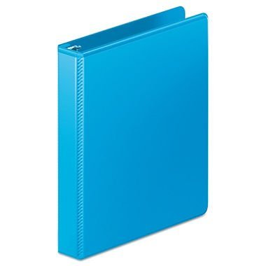 - Heavy Duty D-Ring View Binder with Extra Durable Hinge, 1