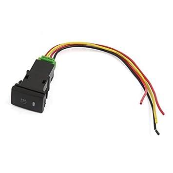 Stromstoß ON-OFF Auto-Nebel-Lampen-Schalter Verdrahtung für Toyota ...
