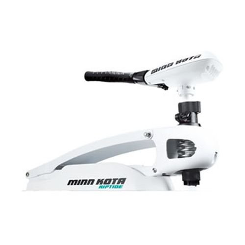 Minn Kota Riptide 55 SM Saltwater Bow-Mount Trolling Motor with Latch and Door Bracket (55-lb Thrust, 52