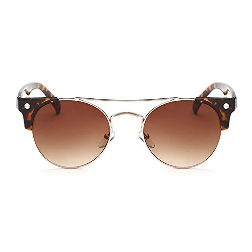 G&T Womens Retro Trendy Personality Round Cute Party - Sunglasses Okey Website