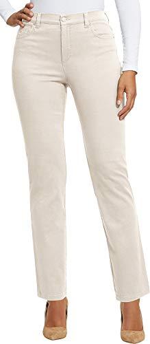 Gloria Vanderbilt Women's Petite Amanda Classic Tapered Jean, Pebblestone, 10P Short -