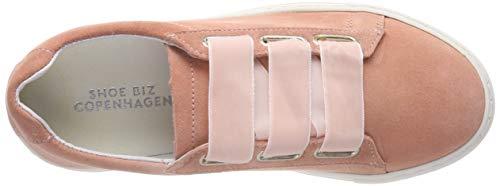 Pink Foolira suede Mujer Para Biz Shoe Rosa Zapatillas Apricot q04nzw1