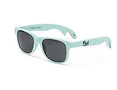 Victoria's Secret Pink Bottle Opener Sunglasses Sheer Seafoam - Victoria Sunglasses Secret