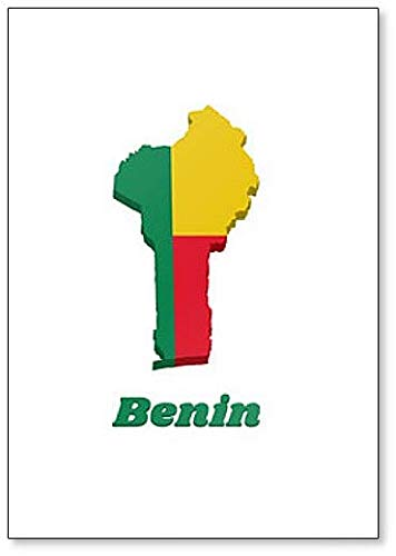 Amazon.com: Map and Flag of Benin Fridge Magnet: Kitchen ... on show map of pakistan, show map of kuwait, show map of burundi, show map of mozambique, show map of yemen, show map of barbados, show map of east africa, show map of el salvador, show map of finland, show map of lebanon, show map of st lucia, show map of united states of america, show map of saudi arabia, show map of cuba, show map of colombia, show map of haiti, show map of windward islands, show map of jordan, show map of south vietnam, show map of greenland,