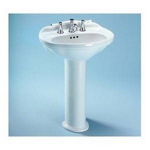 Toto LPT754.4#01 Whitney Pedestal Lavatory, Cotton