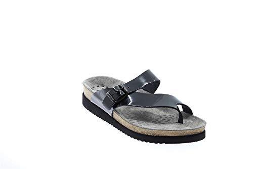 Womens Mephisto Patente Helen Leather Sandals Negro wYTqTadnfx