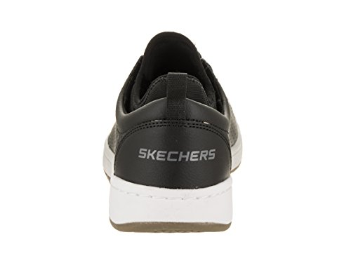Skechers Mens Lite Kibbee Chaussures Casual Noir / Blanc