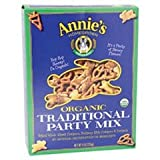 Annies Homegrown Organic Traditional Party Mix, 9 Ounce -- 12 per case.