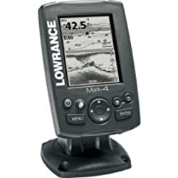 AWM Lowrance 000-10483-001 Mark-4 Combo Base Fishfinder & Chartplotter - Fishfinders