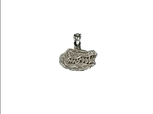 Florida Gators Sterling Silver Head Logo (Gator Head Silver)