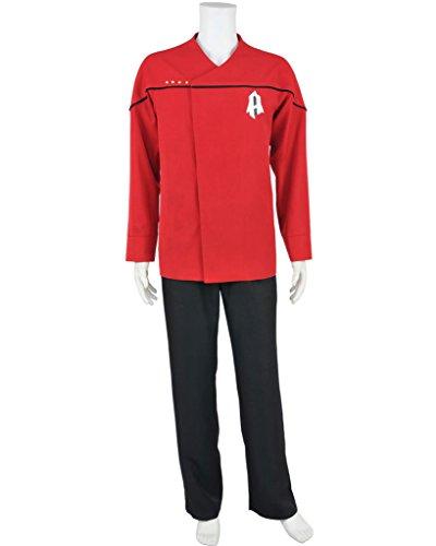 CosplayNow Star Trek Harry Kim Cosplay Costume Coat Red Custom Made (Star Trek Voyager Costume)