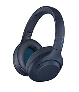 Sony Extra BASS Wireless Noise Cancelling Headphones Sony WH-XB900N Extra BASS Wireless Noise Cancelling Headphones, Blue, (WHXB900NL)