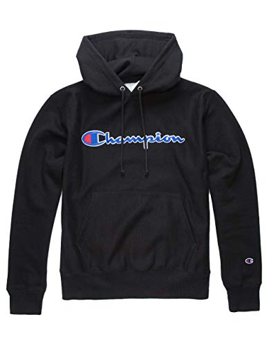 Champion LIFE Men's Reverse Weave Pullover Hoodie, Black, Medium (Champion Life Mens Reverse Weave Pullover Hoodie)