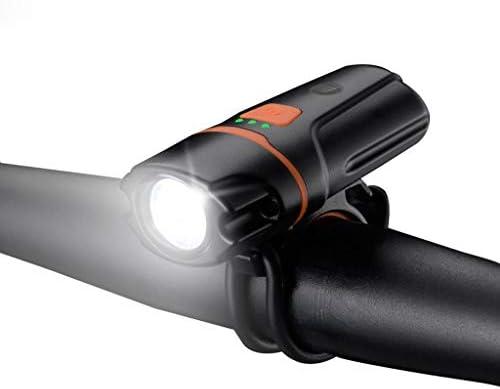 自転車用ライト、USB充電式自転車サイクリングヘッドライトフロントバイクランプマウンテンバイクライト1200ルーメンLED懐中電灯緊急用懐中電灯用の防水バイクライト