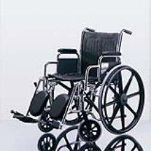 "medline Excel 2000 Wheelchair, 18"" Wide Seat, Desk Length..."