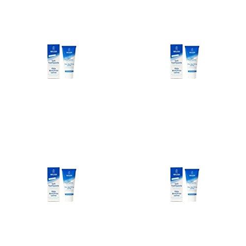 ((4 PACK) - Weleda Toothpaste - Salt | 75ml | 4 PACK - SUPER SAVER - SAVE MONEY)