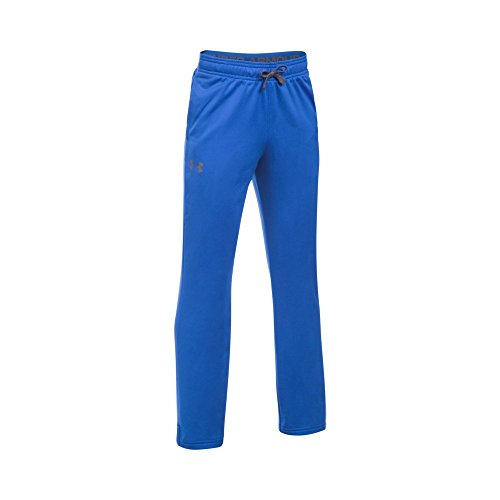 Under Armour Boys' Brawler Slim Pants,Ultra Blue (907)/Graphite, Youth Large by Under Armour (Image #1)