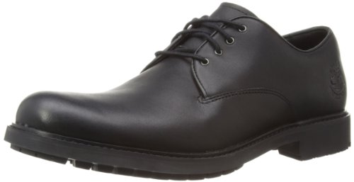 Timberland Stormbuck Plain Toe Waterproof, Scarpe Oxford Uomo nero