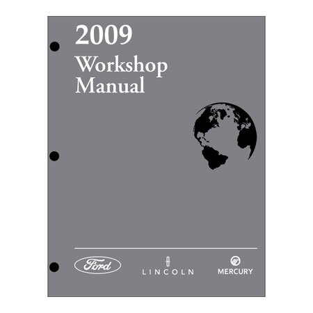 2009 Explorer/Mountaineer/Explorer Sport Trac Workshop Manual
