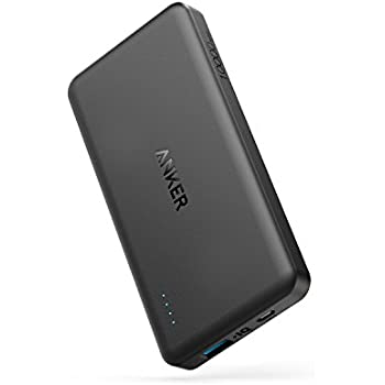 Anker PowerCore II Slim 10000 Ultra Slim Power Bank, Upgraded PowerIQ 2.0 (up to 18W Output), Fast Charge for iPhone, Samsung Galaxy and More (Black)
