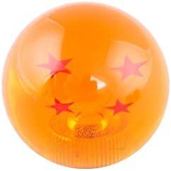 Alician Creative Dragon Ball Universal Manual Gear Shift Knob Stick Acrylic Shifter Lever Head 4 Stars