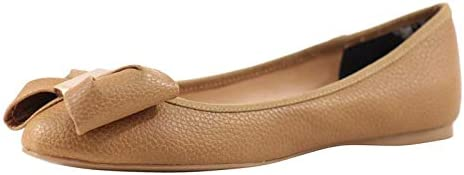 Ted Baker Women's Imme-4 Tan Flats Shoes