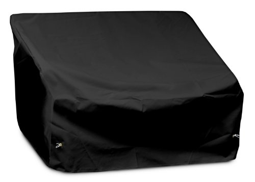 KoverRoos Weathermax 72350 2-Seat/Loveseat Cover, 54-Inch Width by 38-Inch Diameter by 31-Inch Height, Black by KOVERROOS