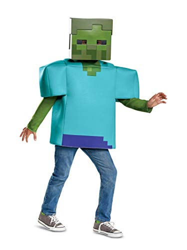 Disguise Zombie Classic Child Costume, Green,