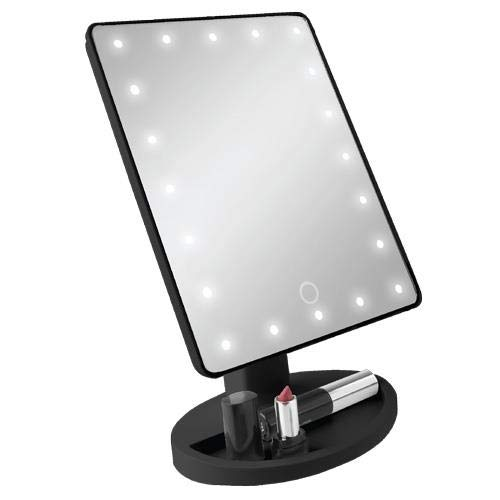 Vivitar Vivitar led light up vanity mirror, all in one mirror, cordless, -