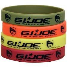 G.i.joe Rubber Bracelets -