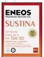 エネオス サスティナ 5W-30 SN/RC/GF-5 100%化学合成油 4L×6