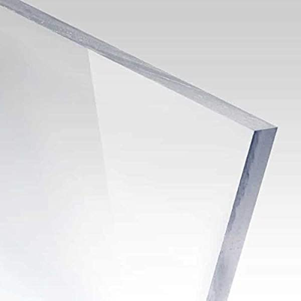 "Clear Acrylic Sheet Plexiglass 6/"" x 24/"" Strip AZM 4.5mm 2 PACK 3//16/"""